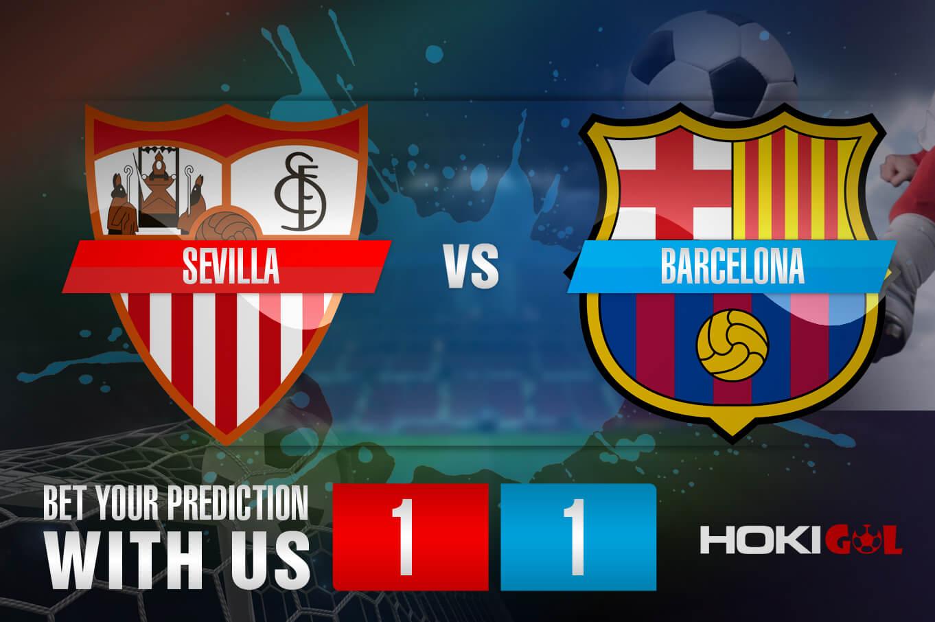 Prediksi Bola Sevilla Vs Barcelona 27 Februari 2021