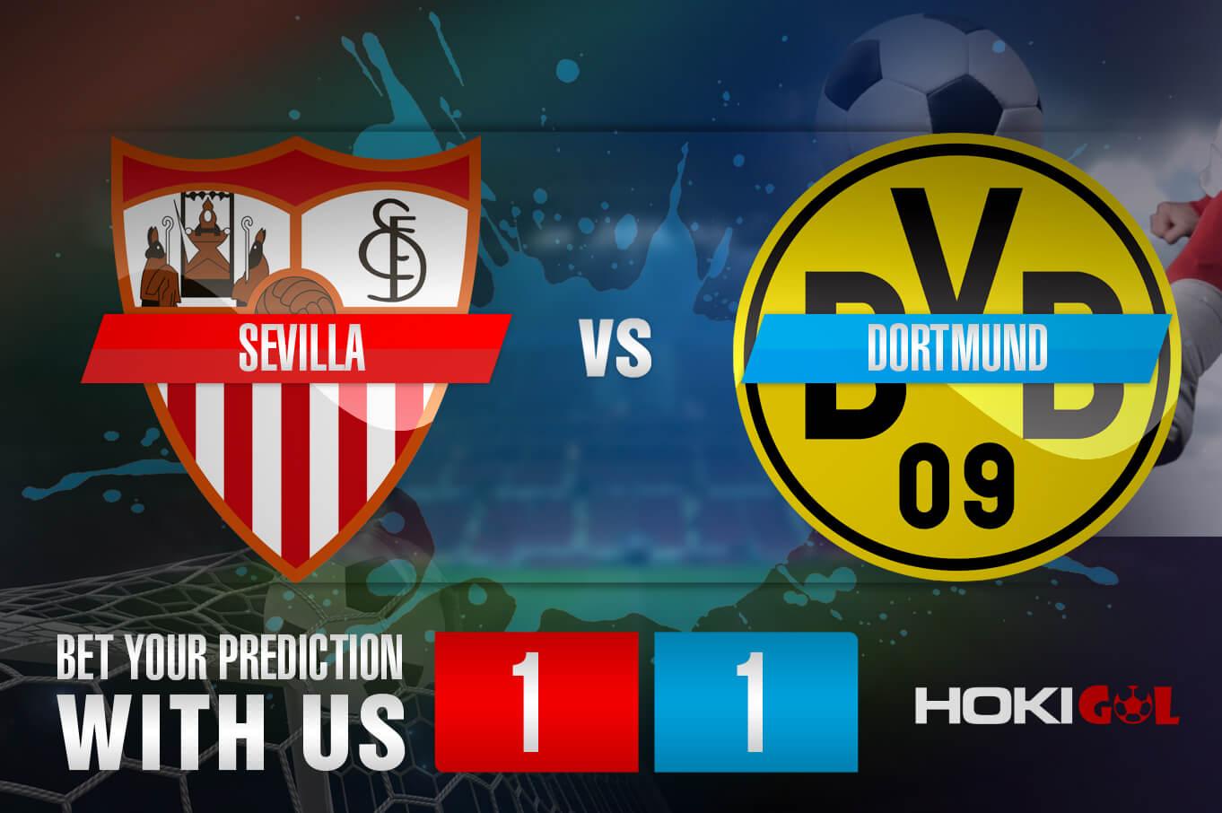 Prediksi Bola Sevilla Vs Dortmund 18 Februari 2021