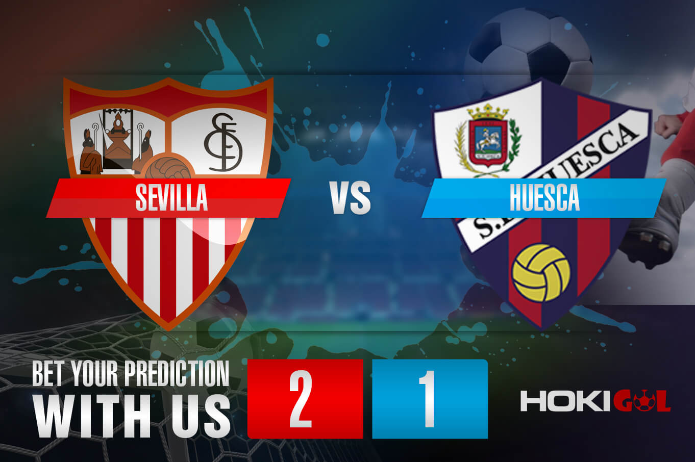 Prediksi Bola Sevilla Vs Huesca 13 Februari 2021