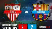 Prediksi Bola Sevilla vs Barcelona 11 Februari 2021
