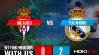 Prediksi Bola Valladolid Vs Real Madrid 21 Februari 2021