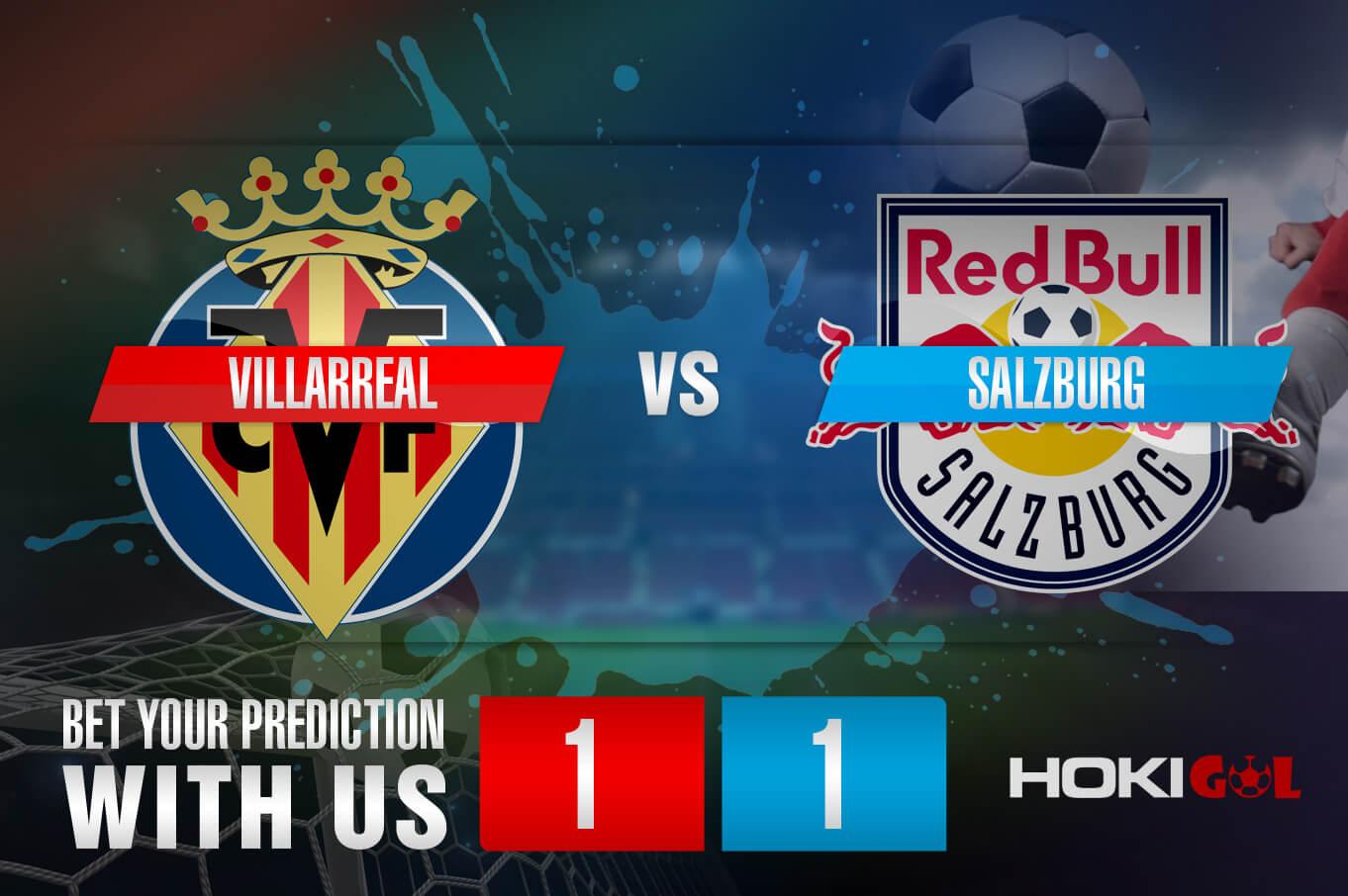 Prediksi Bola Villarreal Vs Salzburg 26 Februari 2021