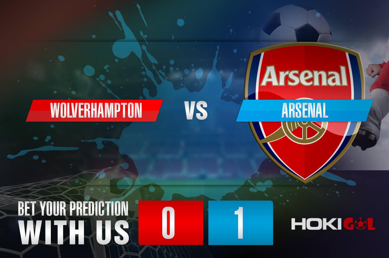 Prediksi Bola Wolverhampton Vs Arsenal 3 Februari 2021