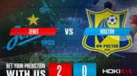 Prediksi Bola Zenit Vs Rostov 27 Februari 2021
