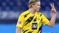 Borussia Dortmund Bantah Rumor Kepergian Erling Haaland