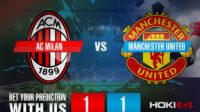 Prediksi Bola AC Milan Vs Manchester United FC 19 Maret 2021