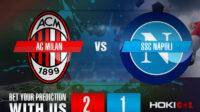 Prediksi Bola AC Milan Vs SSC Napoli 15 Maret 2021