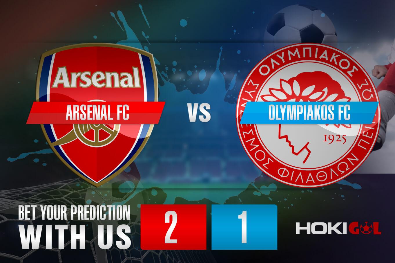 Prediksi Bola Arsenal FC Vs Olympiakos FC 19 Maret 2021