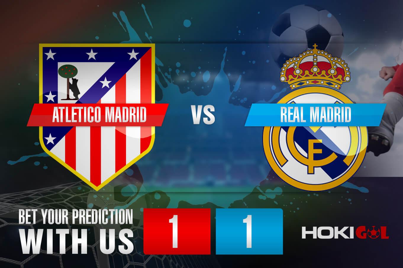 Prediksi Bola Atletico Madrid Vs Real Madrid 7 Maret 2021