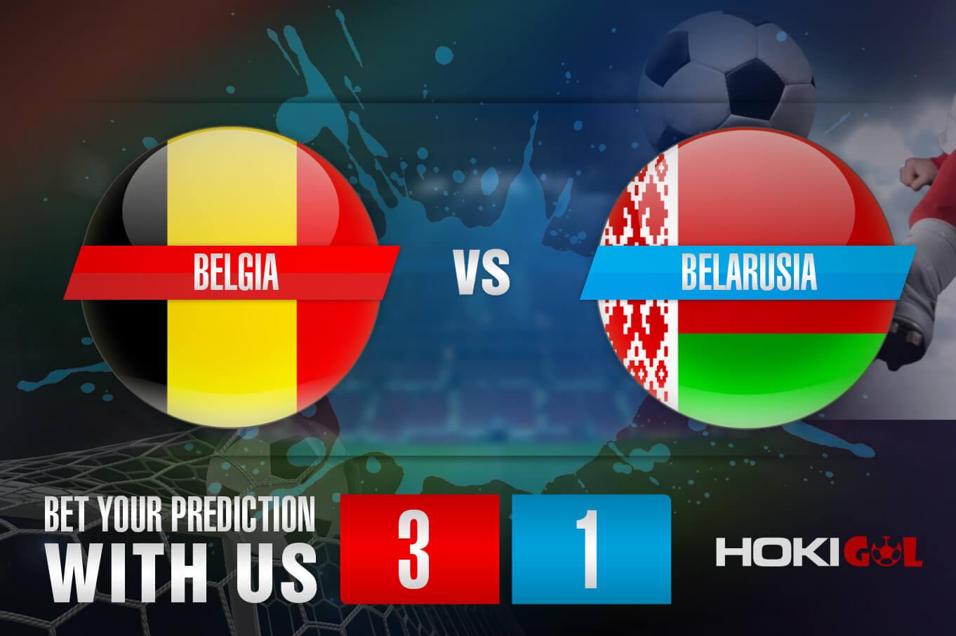 Prediksi Bola Belgia Vs Belarusia 31 Maret 2021