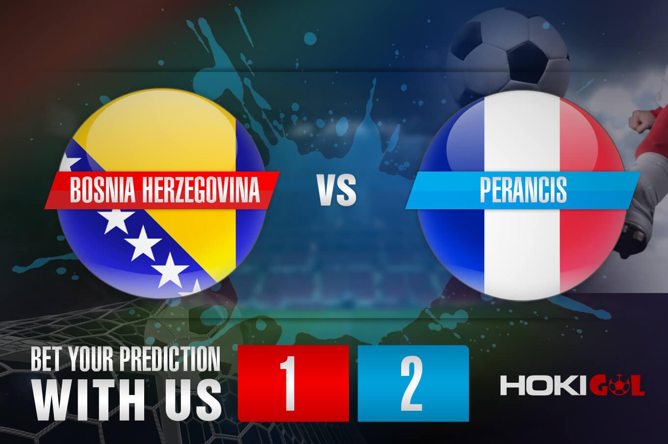 Prediksi Bola Bosnia Herzegovina Vs Perancis 1 April 2021