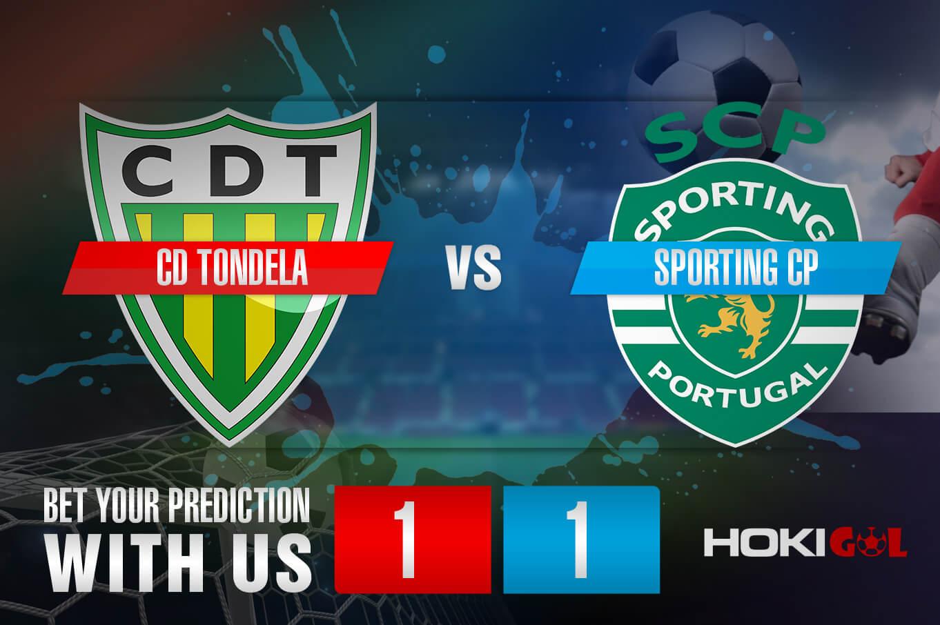 Prediksi Bola CD Tondela Vs Sporting CP 14 Maret 2021