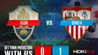 Prediksi Bola Elche Vs Sevilla 6 Maret 2021