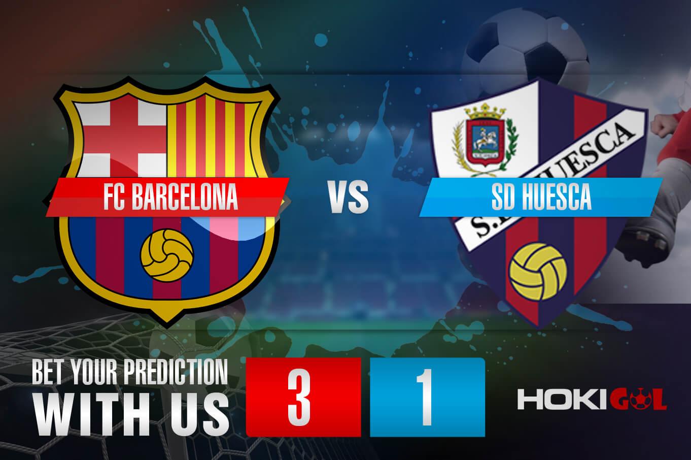 Prediksi Bola FC Barcelona Vs SD Huesca 16 Maret 2021
