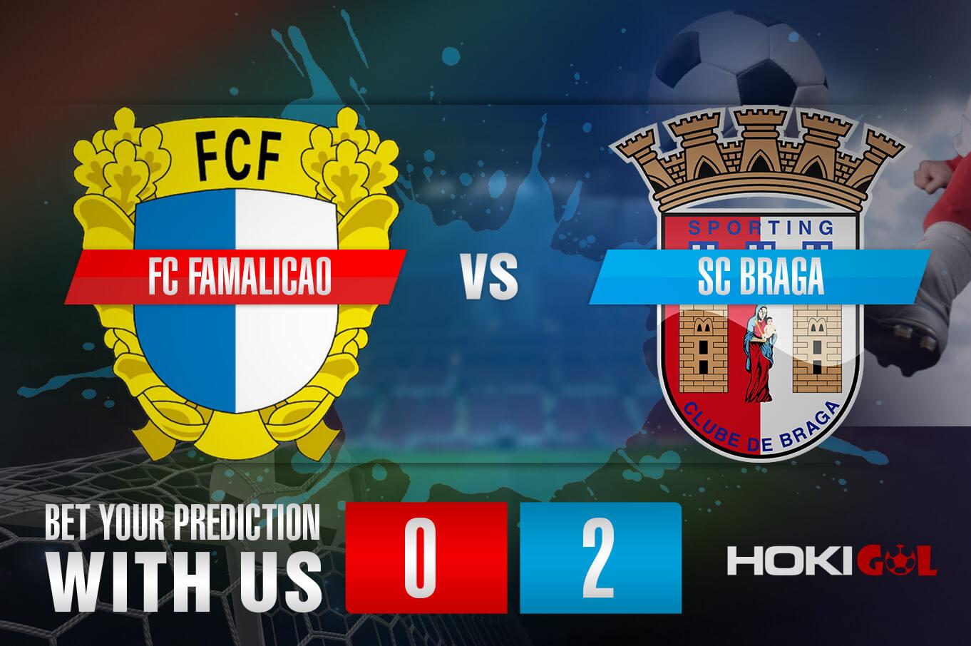 Prediksi Bola FC Famalicao Vs SC Braga 16 Maret 2021