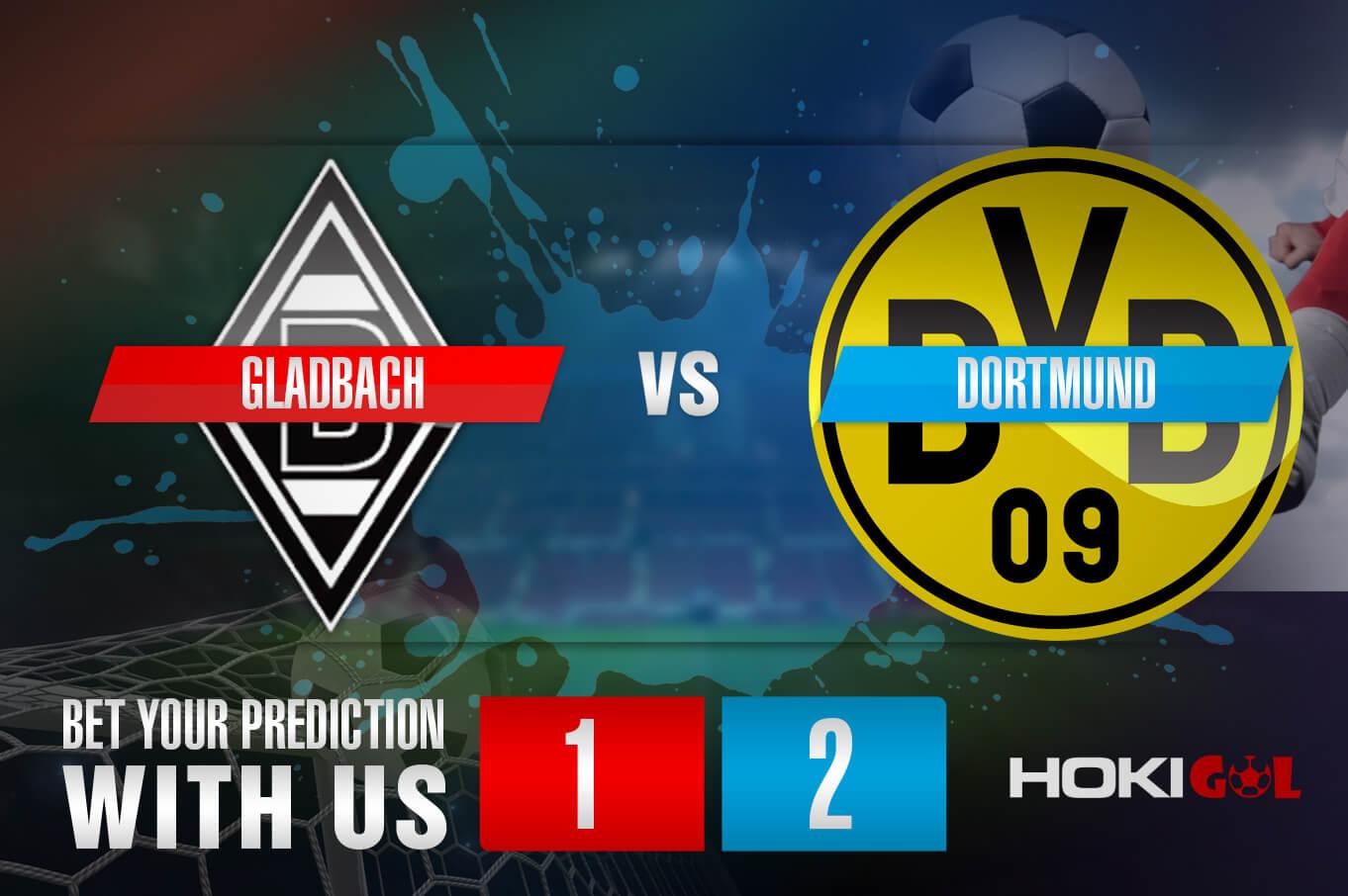 Prediksi Bola Gladbach Vs Dortmund 3 Maret 2021