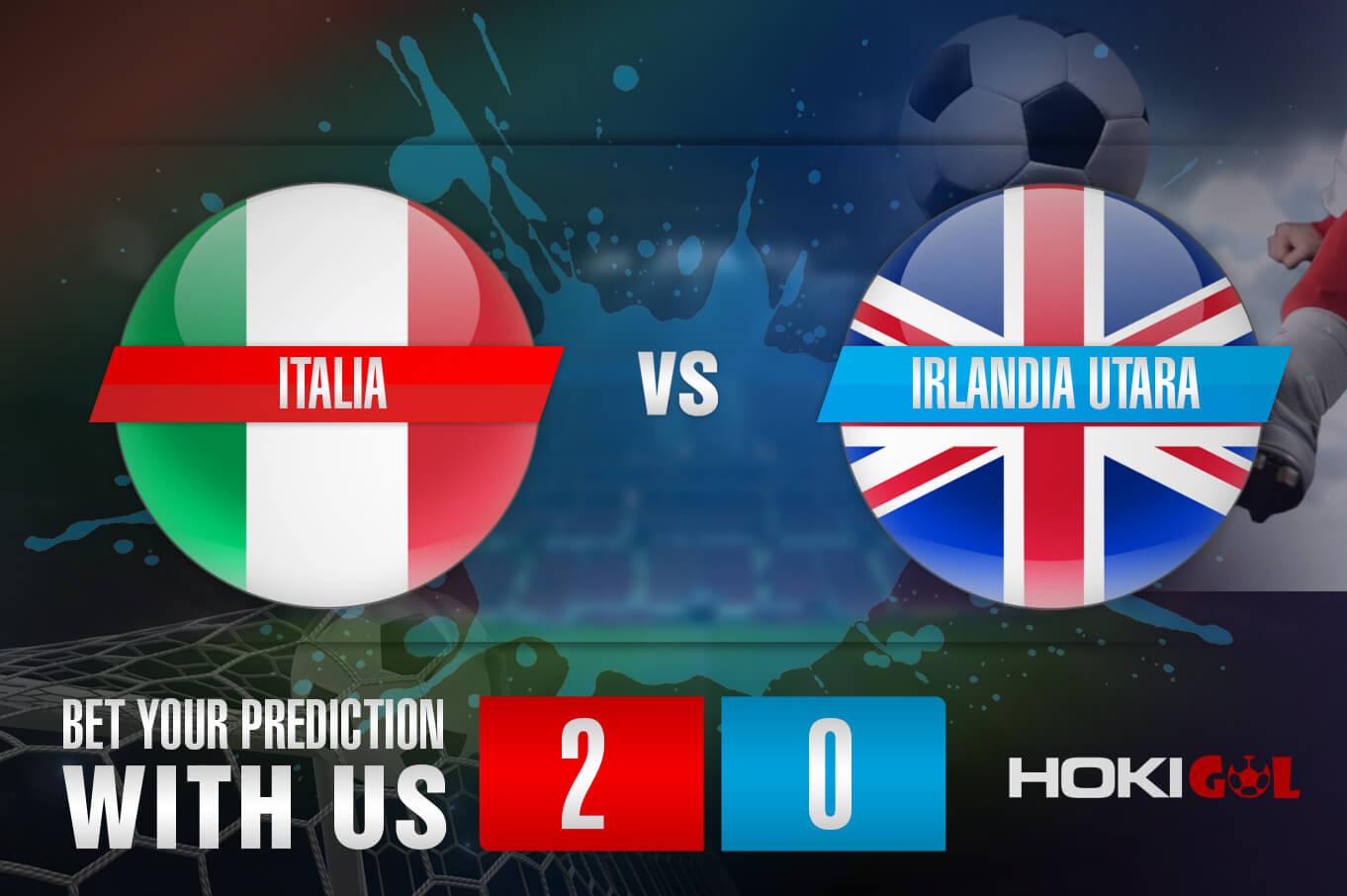 Prediksi Bola Italia vs Irlandia Utara 26 Maret 2021