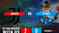Prediksi Bola Juventus Vs FC Porto 10 Maret 2021