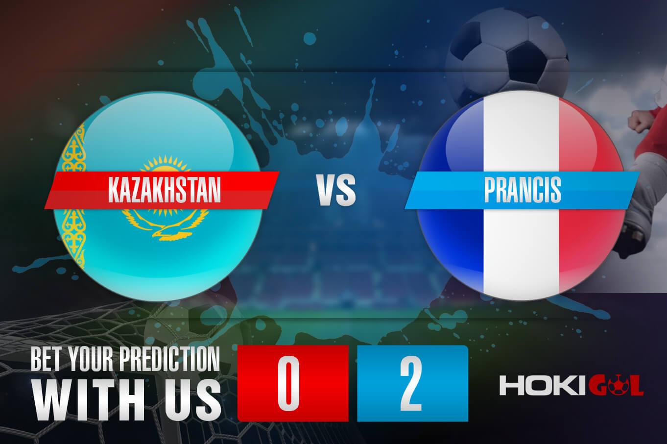 Prediksi Bola Kazakhstan vs Prancis 28 Maret 2021