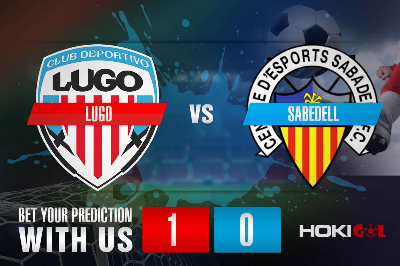 Prediksi Bola Lugo Vs Sabadell 28 Maret 2021