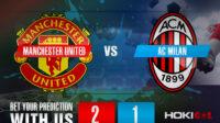 Prediksi Bola Manchester United Vs AC Milan 12 Maret 2021
