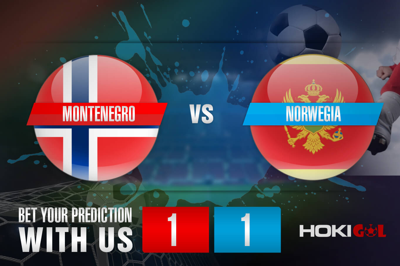 Prediksi Bola Montenegro Vs Norwegia 31 Maret 2021