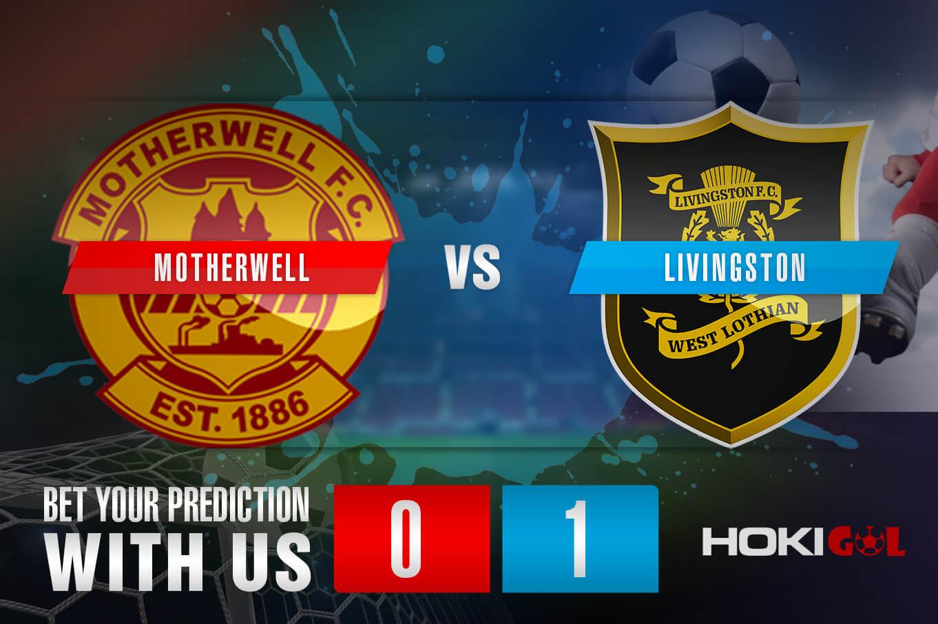 Prediksi Bola Motherwell Vs Livingston 6 Maret 2021