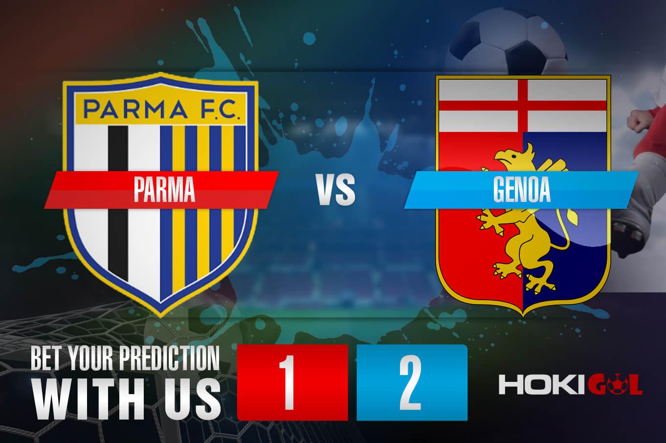 Prediksi Bola Parma Calcio 1913 Vs Genoa CFC 20 Maret 2021