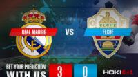 Prediksi Bola Real Madrid CF Vs Elche CF 13 Maret 2021