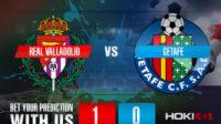 Prediksi Bola Real Valladolid Vs Getafe 6 Maret 2021