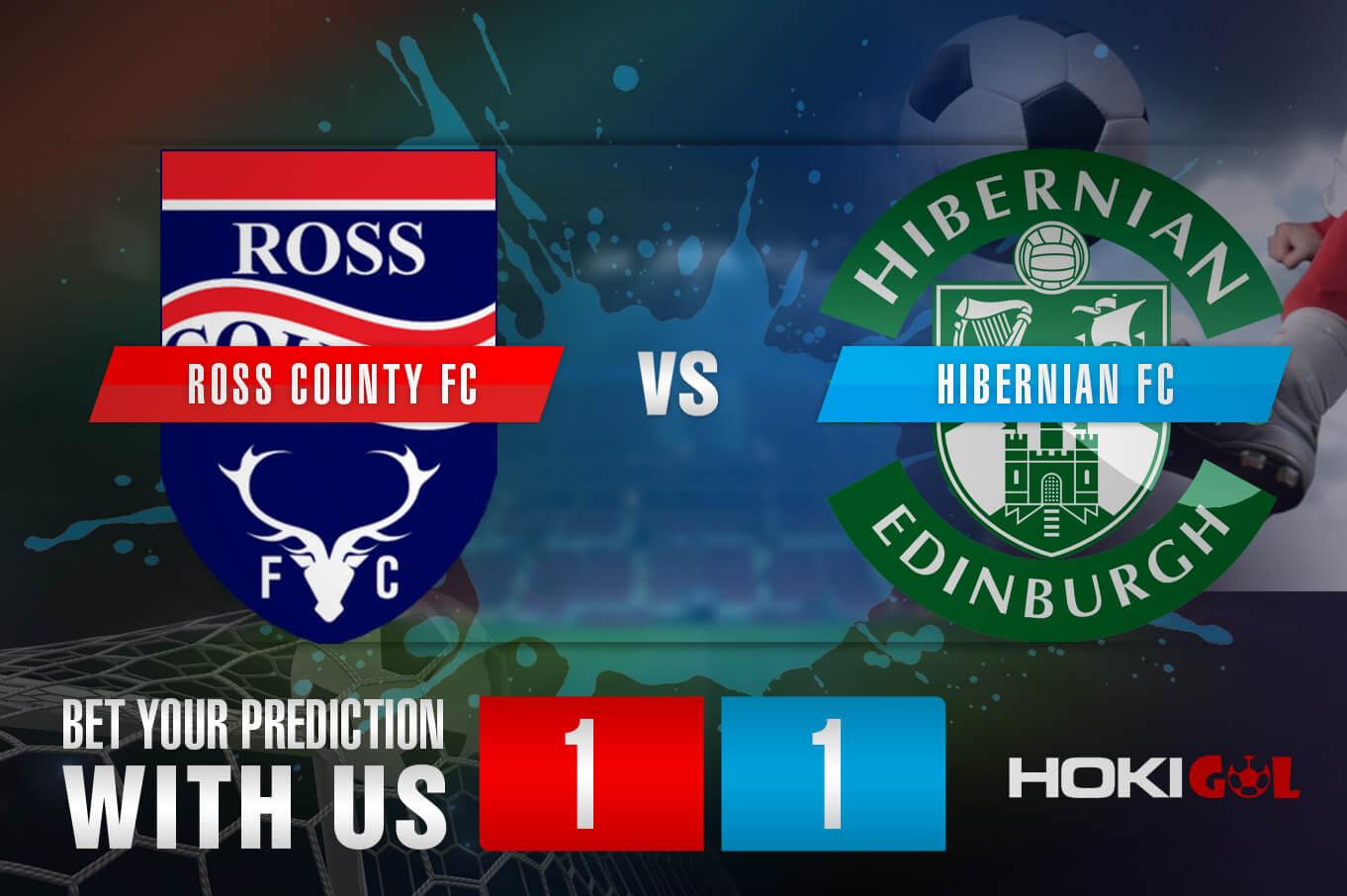 Prediksi Bola Ross County FC Vs Hibernian FC 13 Maret 2021