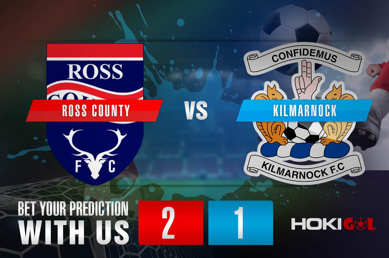 Prediksi Bola Ross County Vs Kilmarnock 6 Maret 2021