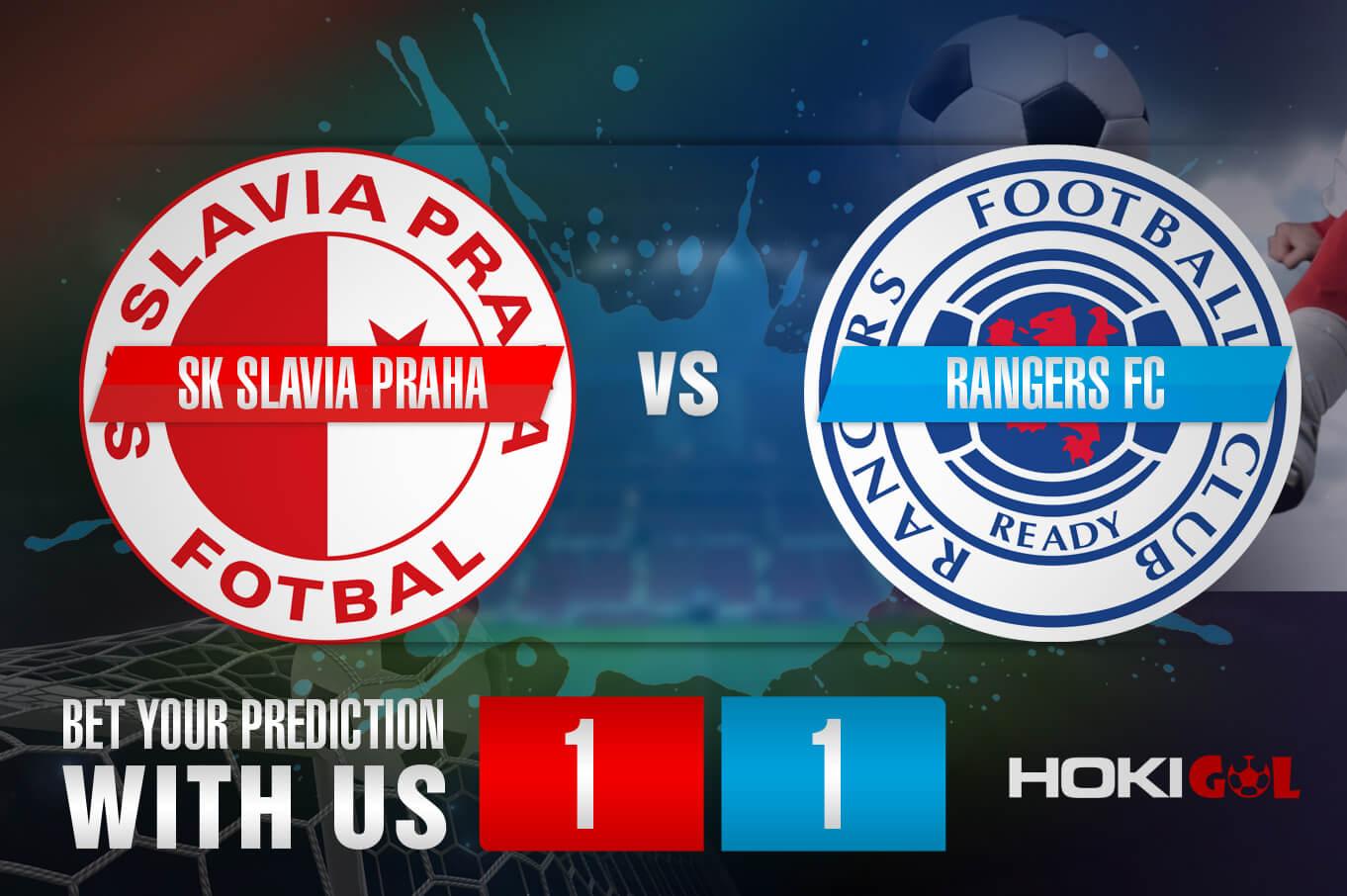 Prediksi Bola SK Slavia Praha Vs Rangers FC 12 Maret 2021