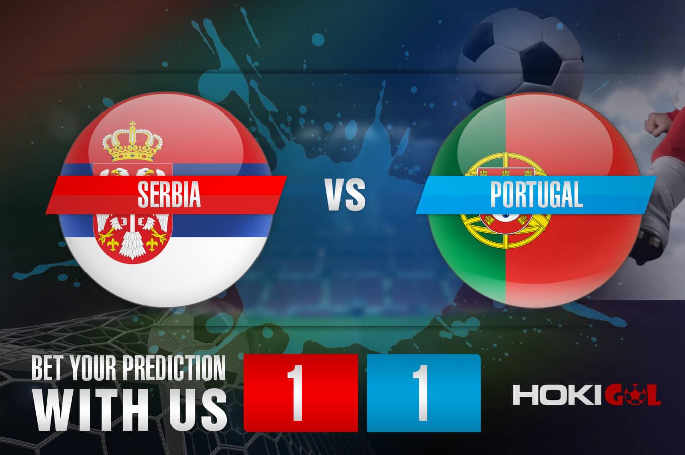 Prediksi Bola Serbia vs Portugal 28 Maret 2021