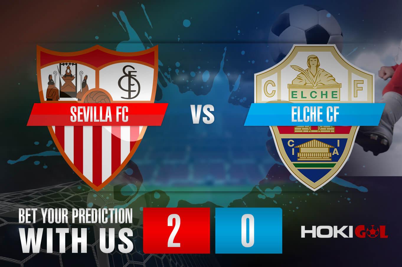 Prediksi Bola Sevilla FC Vs Elche CF 17 Maret 2021