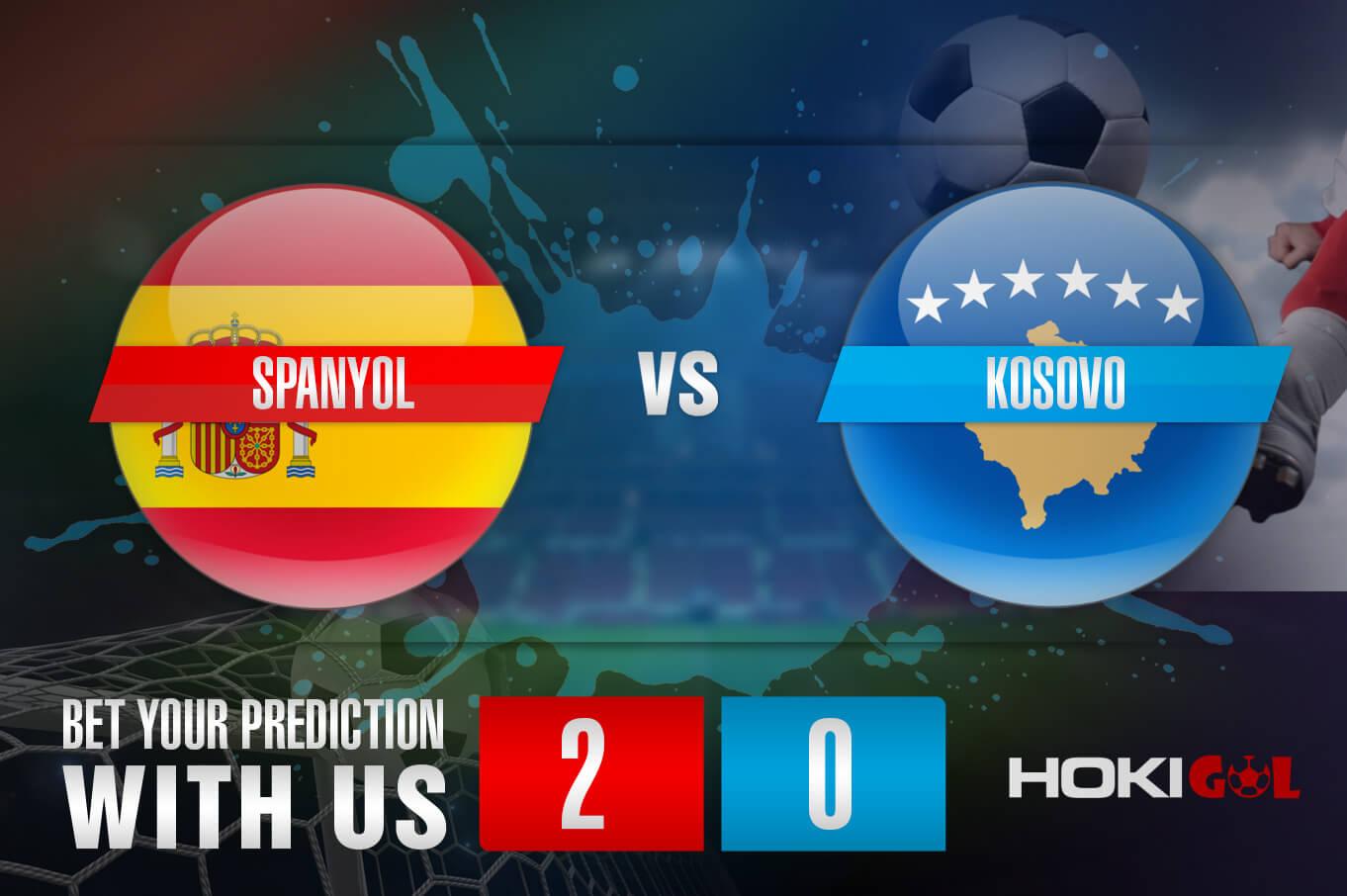 Prediksi Bola Spanyol Vs Kosovo 1 April 2021