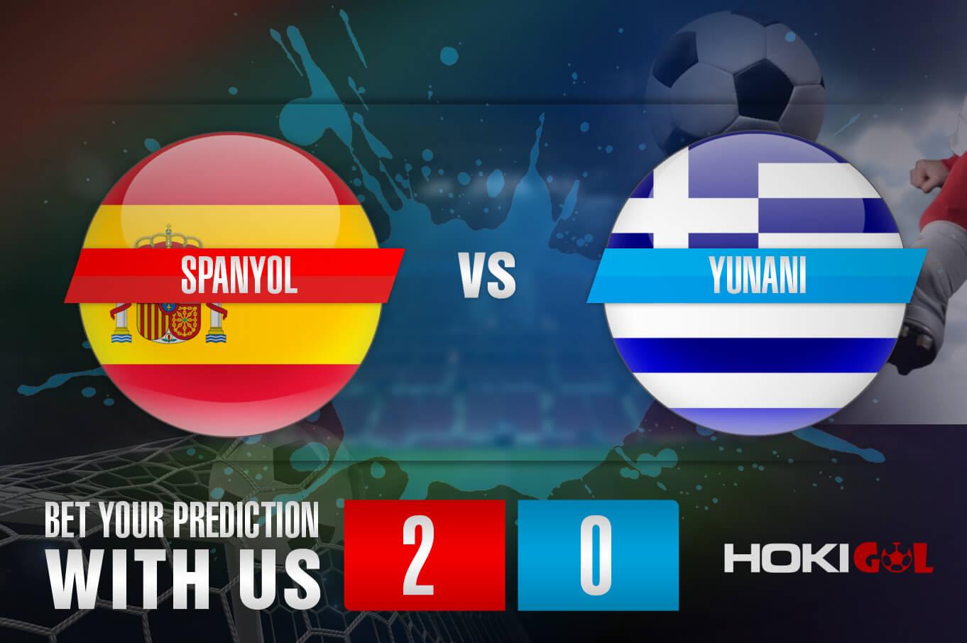 Prediksi Bola Spanyol Vs Yunani 26 Maret 2021