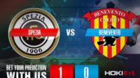 Prediksi Bola Spezia Vs Benevento 6 Maret 2021