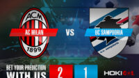 Prediksi Bola AC Milan Vs UC Sampdoria 3 April 2021