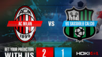 Prediksi Bola AC Milan Vs US Sassuolo Calcio 21 April 2021