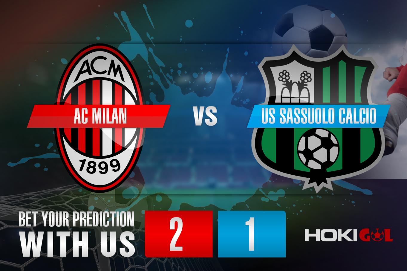 Prediksi Bola AC Milan Vs US Sassuolo Calcio 21 April 2021