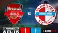 Prediksi Bola Arsenal FC Vs SK Slavia Praha 9 April 2021
