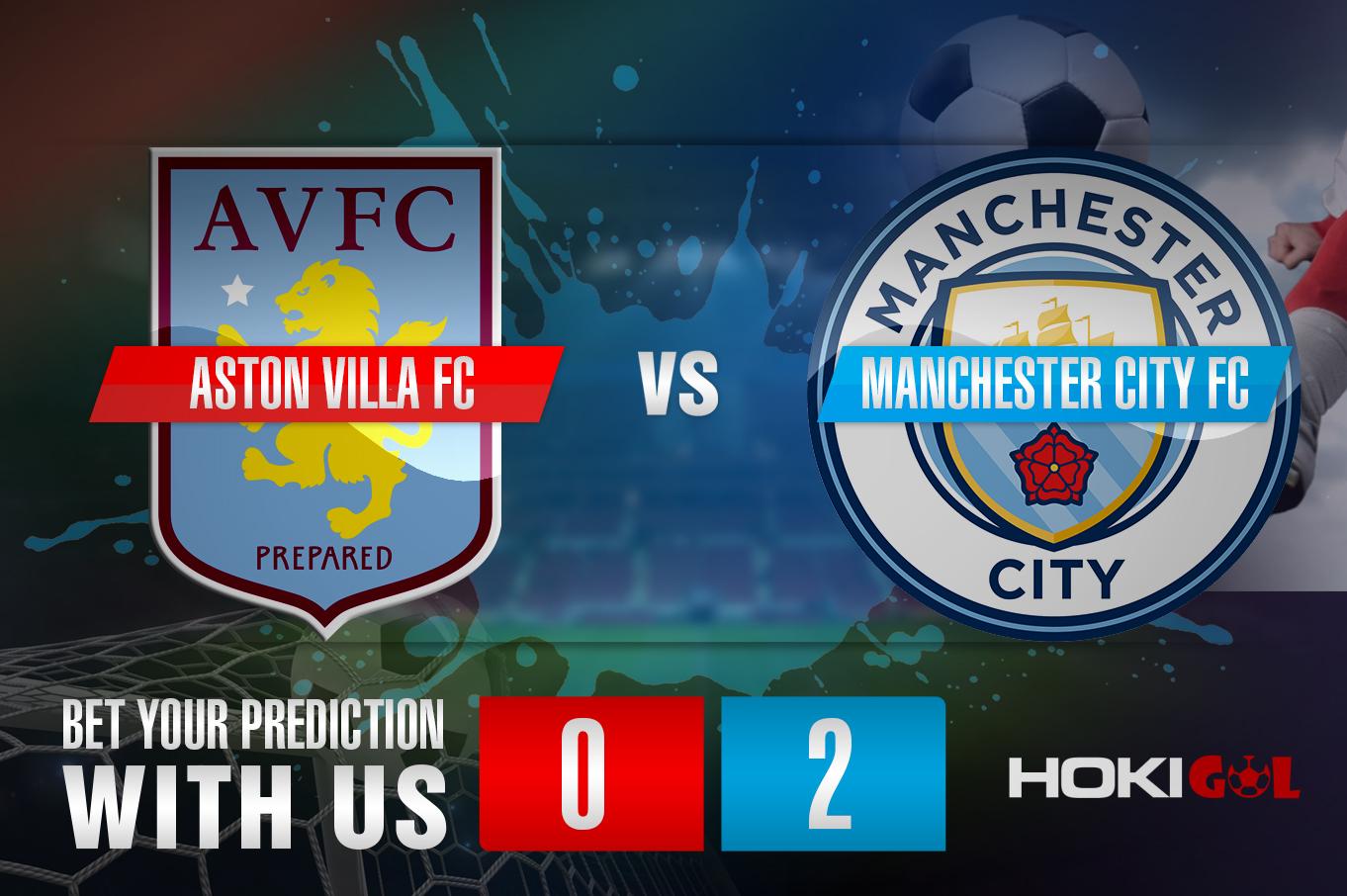Prediksi Bola Aston Villa FC Vs Manchester City FC 22 April 2021