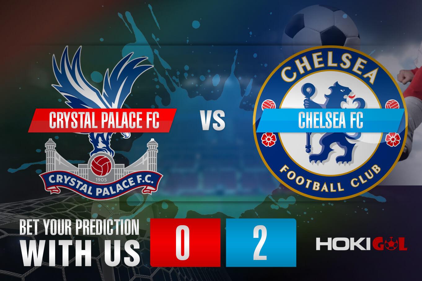 Prediksi Bola Crystal Palace FC Vs Chelsea FC 10 April 2021