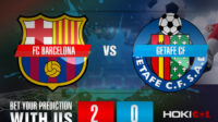 Prediksi Bola FC Barcelona VS Getafe CF 23 April 2021