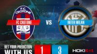 Prediksi Bola FC Crotone Vs Inter Milan 1 Mei 2021