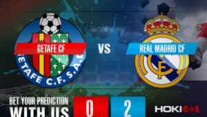 Prediksi Bola Getafe CF Vs Real Madrid CF 19 April 2021