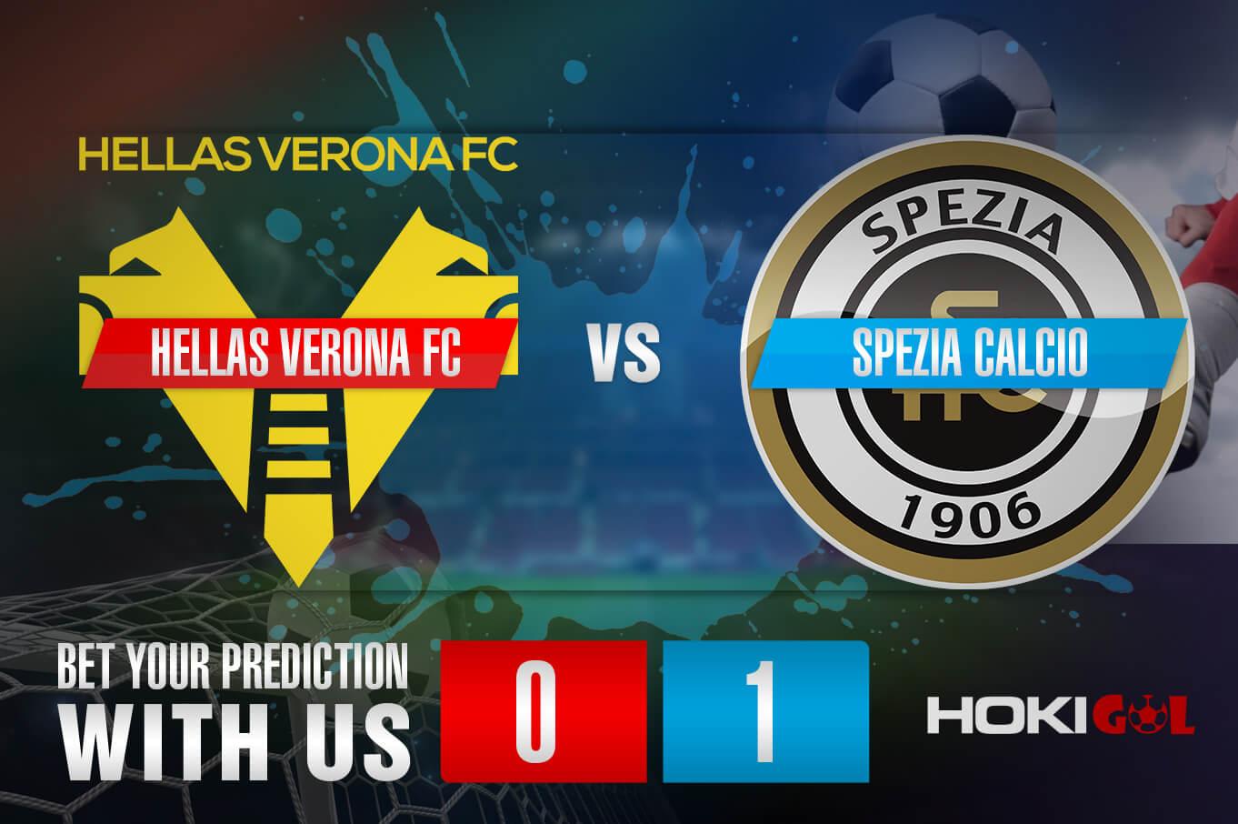 Prediksi Bola Hellas Verona FC Vs Spezia Calcio 1 Mei 2021