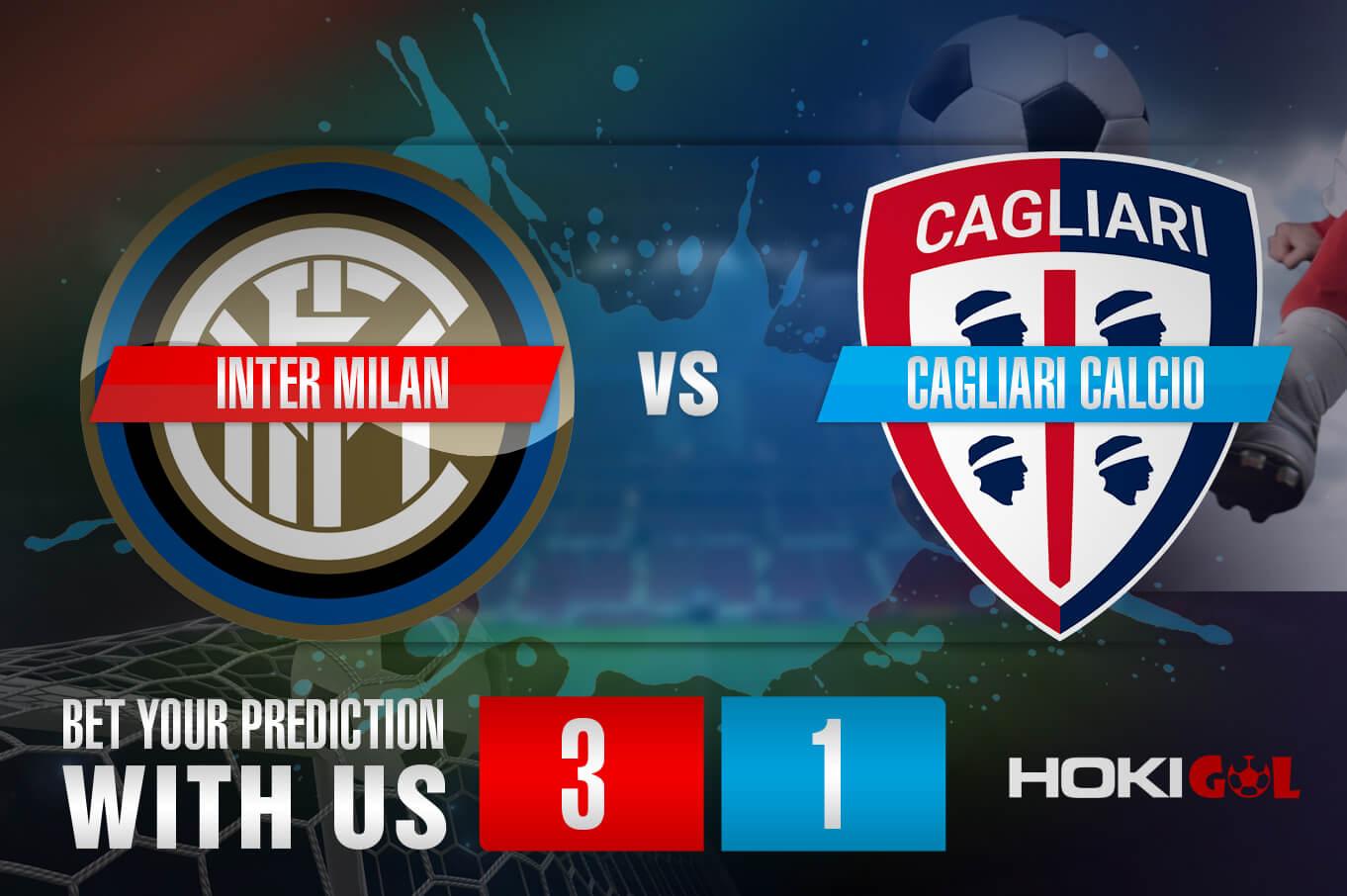 Prediksi Bola Inter Milan Vs Cagliari Calcio 11 April 2021