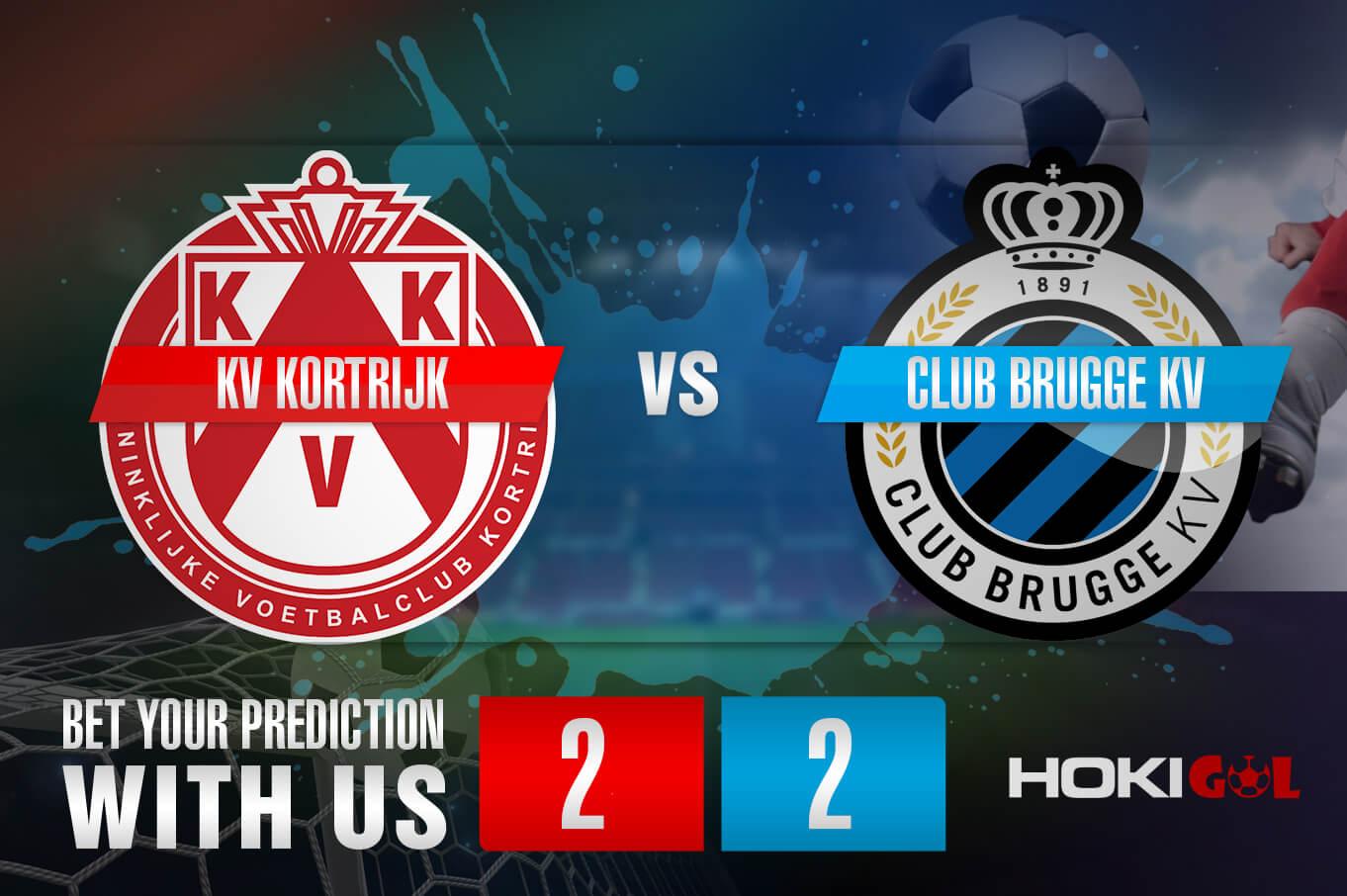 Prediksi Bola KV Kortrijk Vs Club Brugge KV 4 April 2021